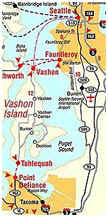 Vashon Map